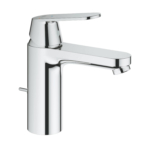 Grohe Eurostyle Cosmopolitan Single Lever M-Size Basin Mixer Tap Chrome with Pop-Up Waste 2339600E main