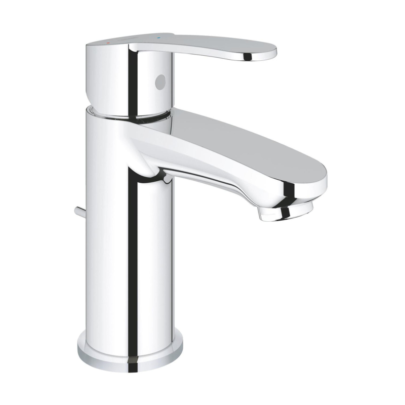 Grohe Eurostyle Cosmopolitan Single Lever S-Size Basin Mixer Tap Chrome with Pop-Up Waste 2338720E main