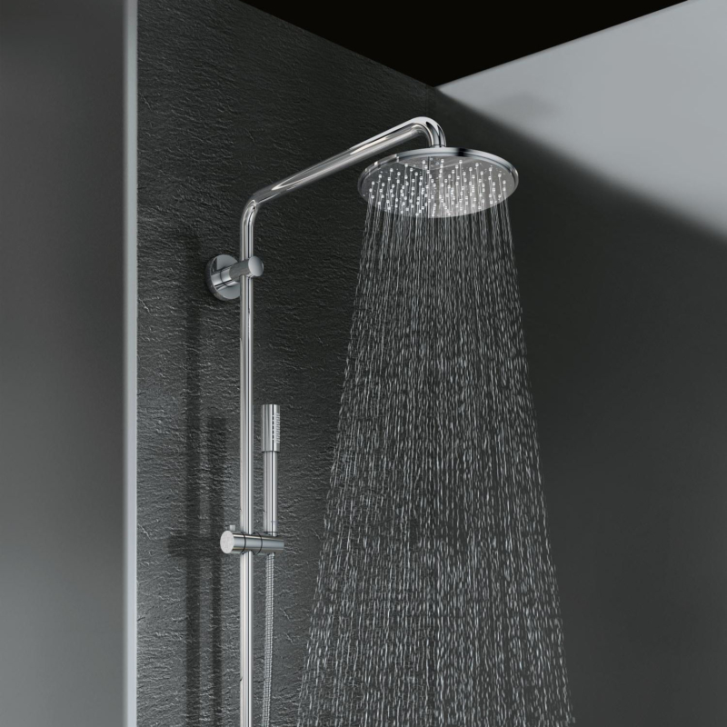 Grohe Rainshower System 210 Shower System with Thermostatic Mixer Chrome 27032001 lifestyle 2