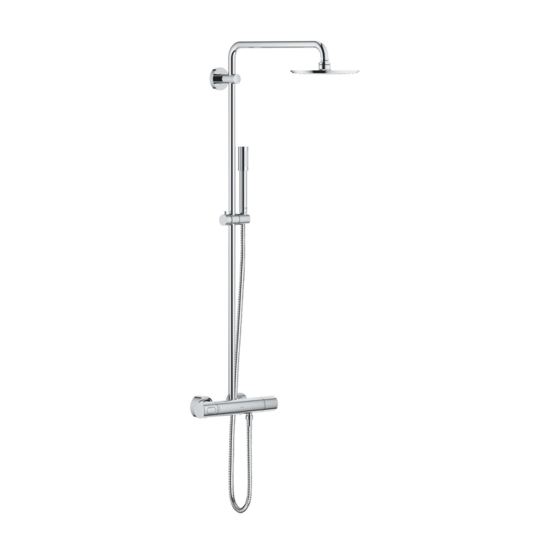 Grohe Rainshower System 210 Shower System with Thermostatic Mixer Chrome 27032001 main