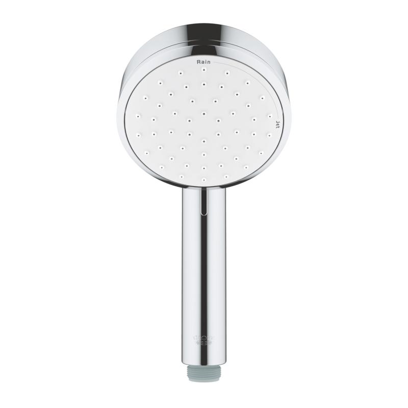 Grohe Tempesta Cosmopolitan 100 2 Spray Hand Shower Chrome 2757120E main straight