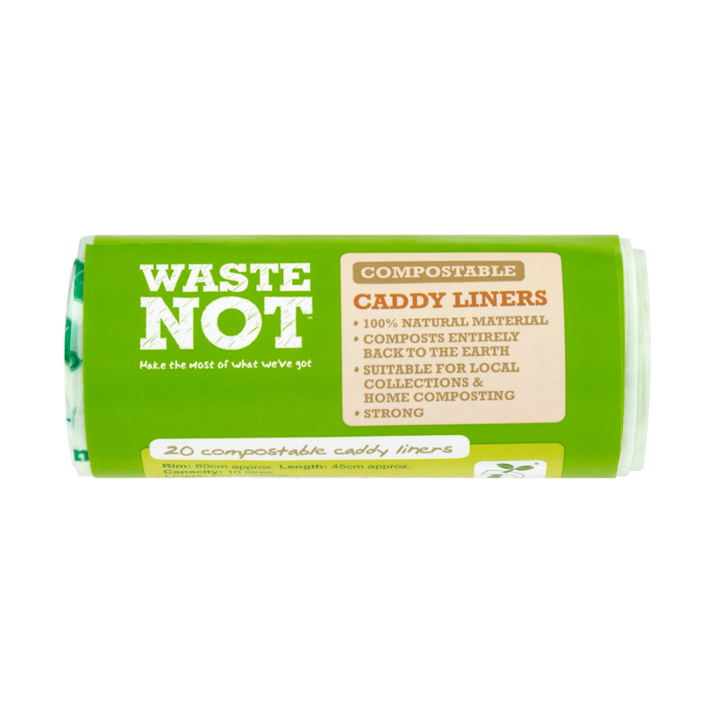 RY10051 WasteNot 20 Caddy Bin Liners