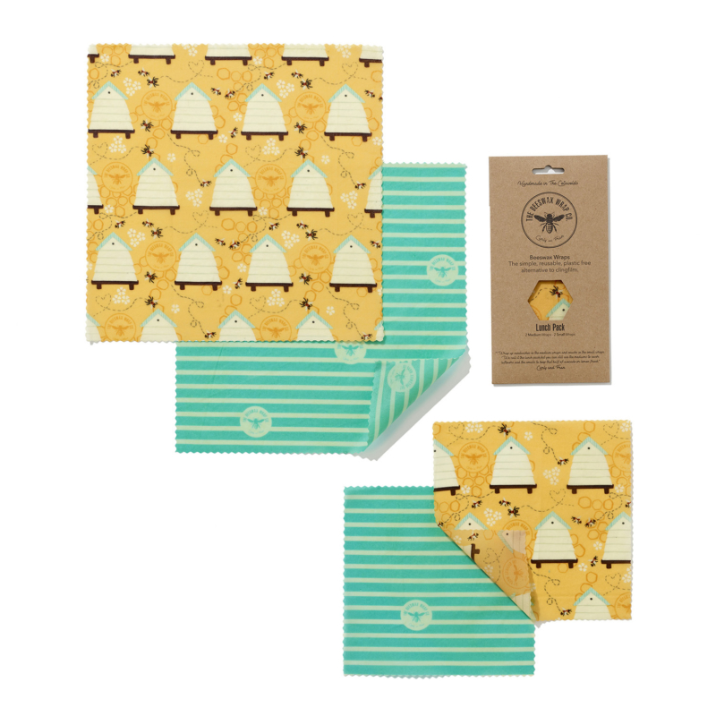 The Beeswax Wrap Lunch Pack BEE-LUN-BEE Main