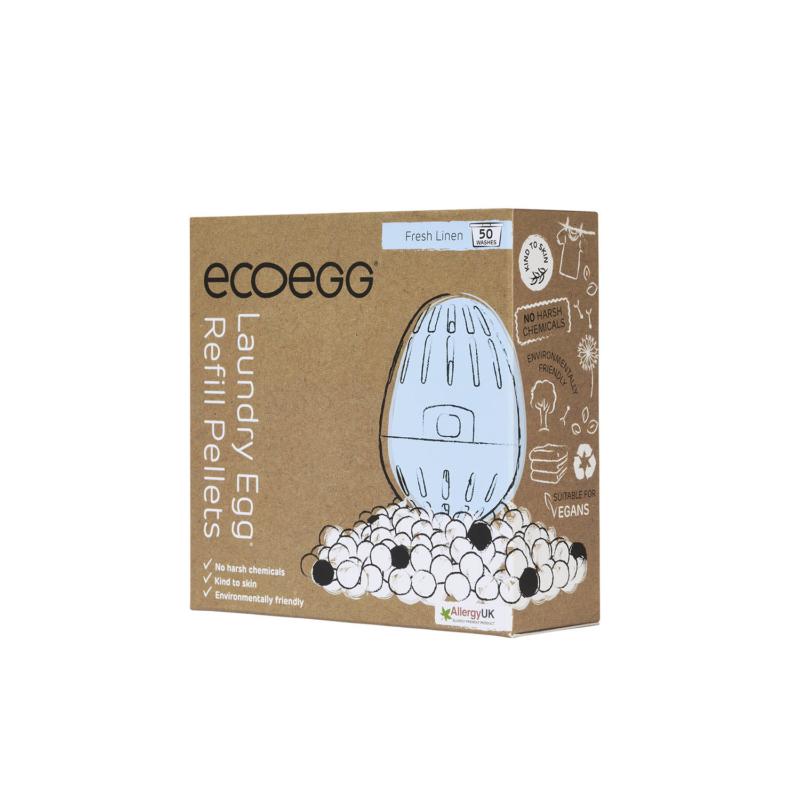 ecoegg Laundry Egg Refill Pellets EELER50FLMAST Side