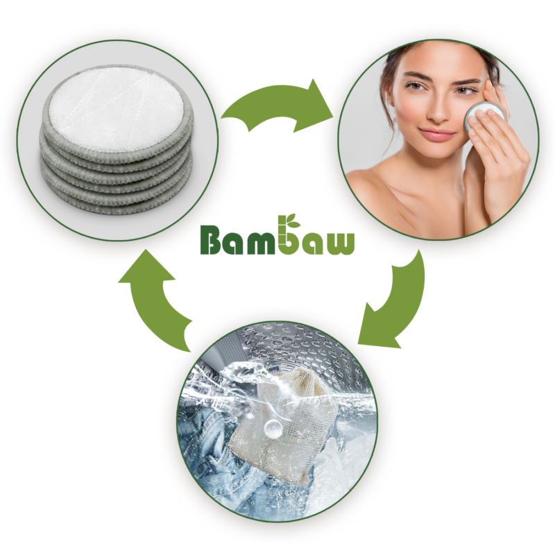 Bambaw Bamboo Makeup Remover Pads 2