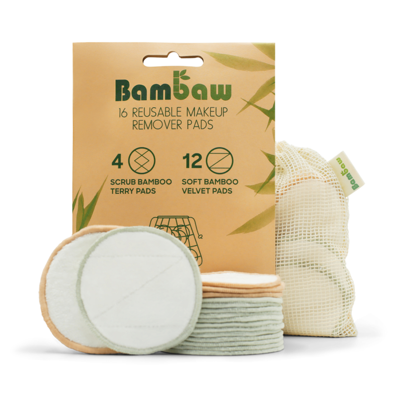 Bambaw Bamboo Makeup Remover Pads Main
