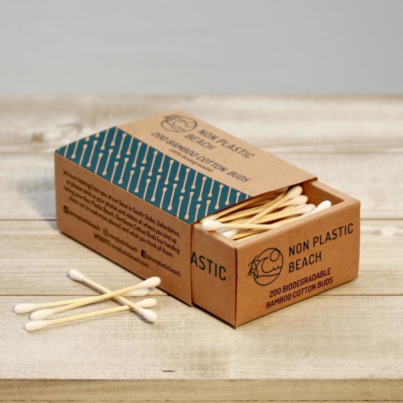 Non Plastic Beach Bamboo Cotton Buds_Main