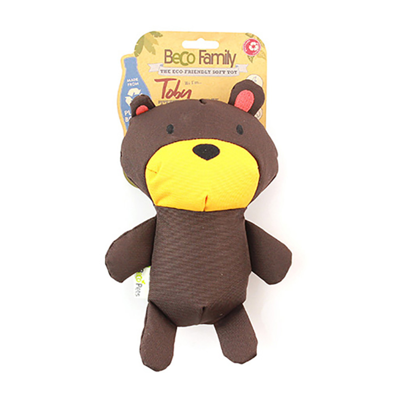 Beco Pets Recycled Soft Teddy_Main