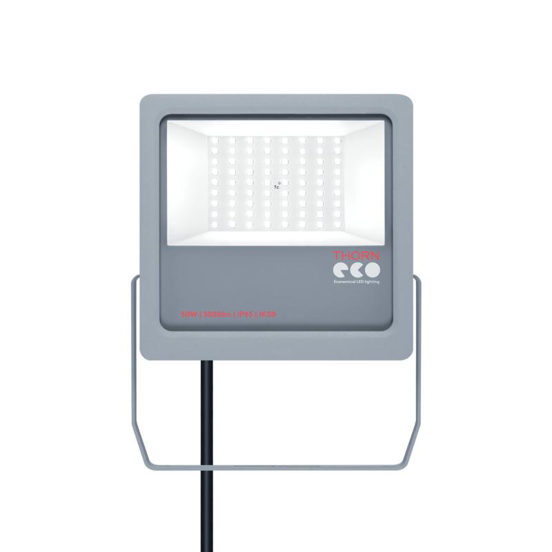 Thorn Eco Leonie LED Floodlight Grey 50W-Main