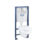Grohe Solido 5-in-1 Bau Toilet Set-39499000-Main