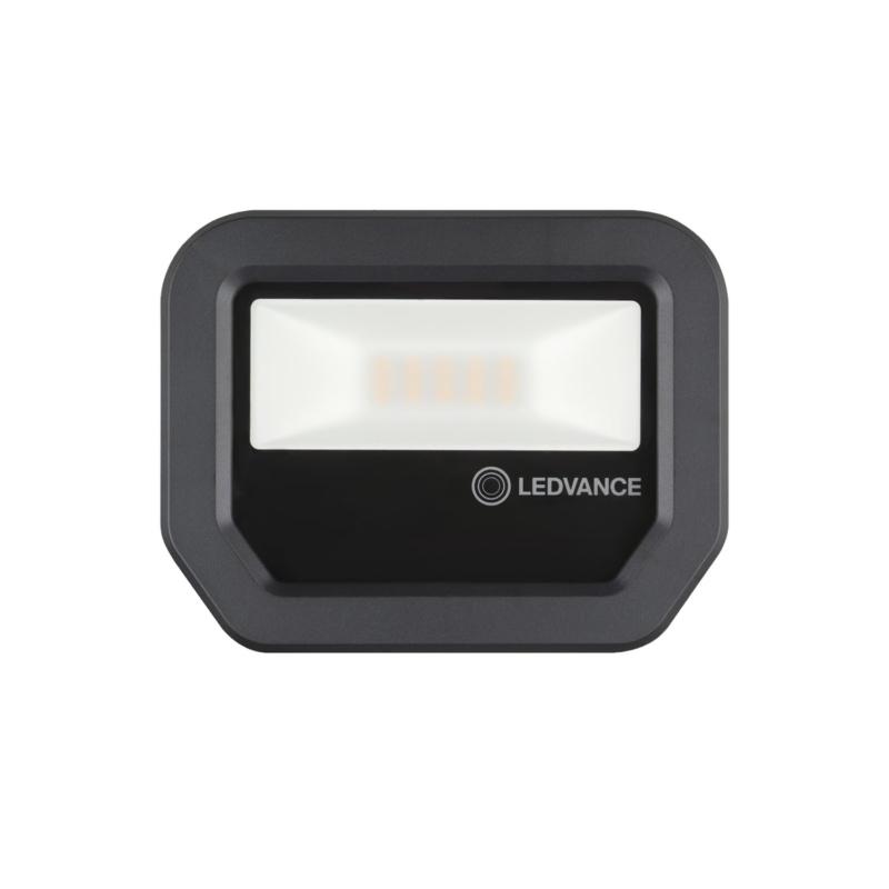 Ledvance 3rd Generation LED Floodlight 10W Black 3000K 4058075420847-Front