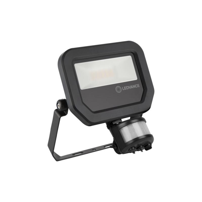 Ledvance 3rd Generation LED Floodlight 10W Black 3000K 4058075460836-Main