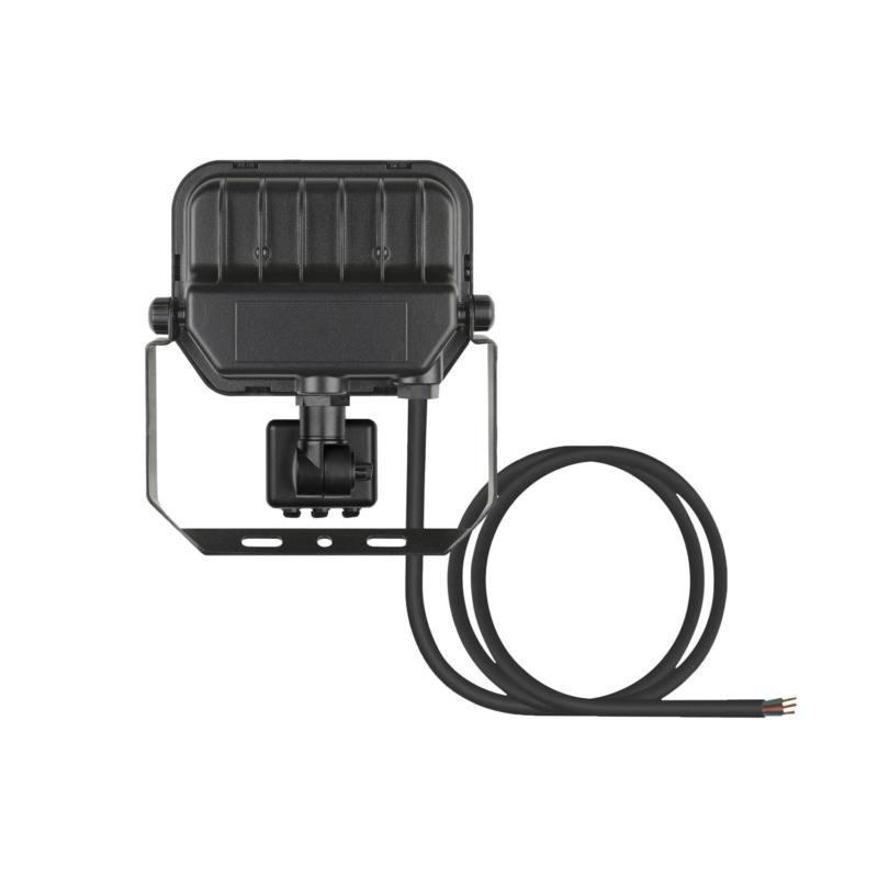 Ledvance 3rd Generation LED Floodlight 10W Black 3000K 4058075460836-Rear