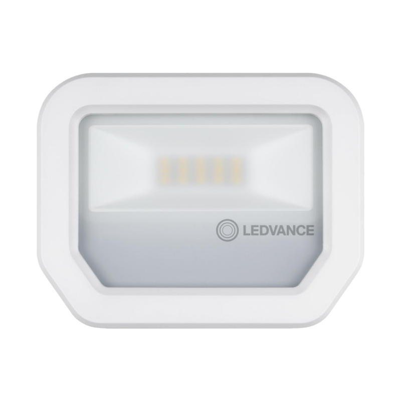 Ledvance 3rd Generation LED Floodlight 10W White 3000K 4058075420861-Front