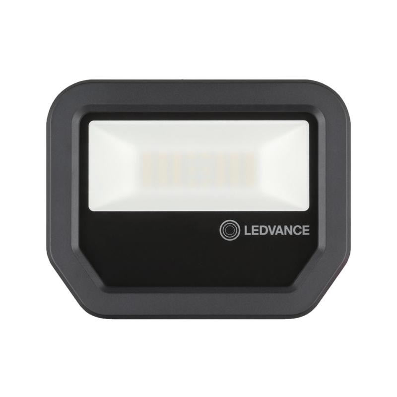 Ledvance 3rd Generation LED Floodlight 20W Black 3000K 4058075420960-Front