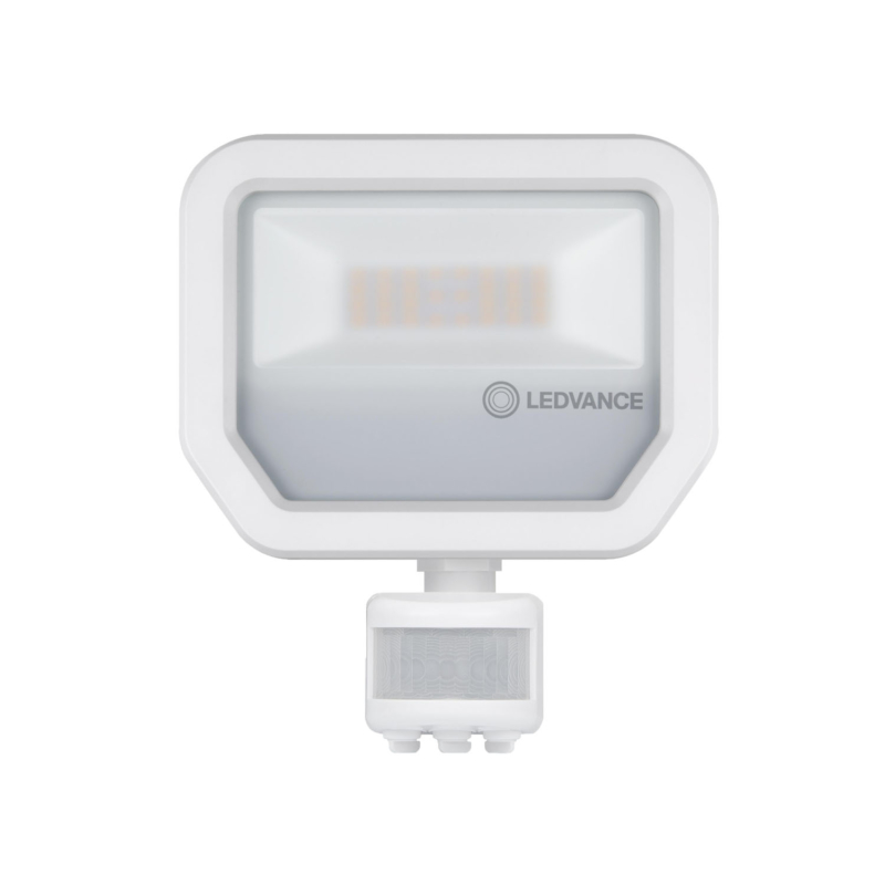 Ledvance 3rd Generation LED Floodlight 20W White 3000K 4058075460935-Front