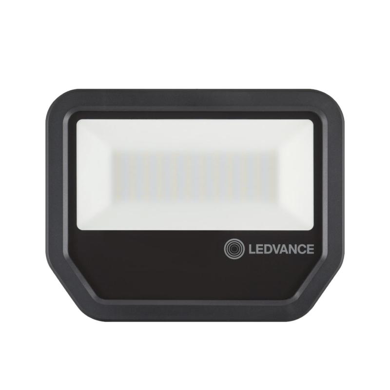 Ledvance 3rd Generation LED Floodlight 50W Black 3000K 4058075421226-Front