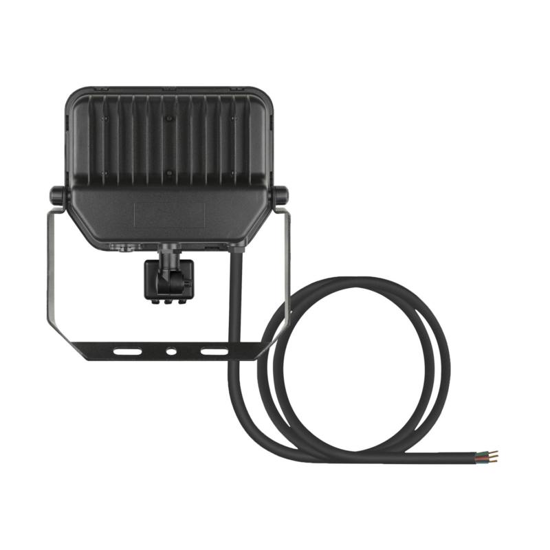 Ledvance 3rd Generation LED Floodlight 50W Black 3000K 4058075460997-Rear
