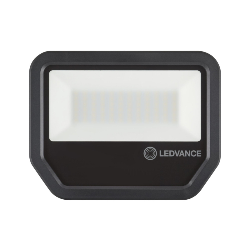 Ledvance 3rd Generation LED Floodlight 50W Black 4000K 4058075421264-Front