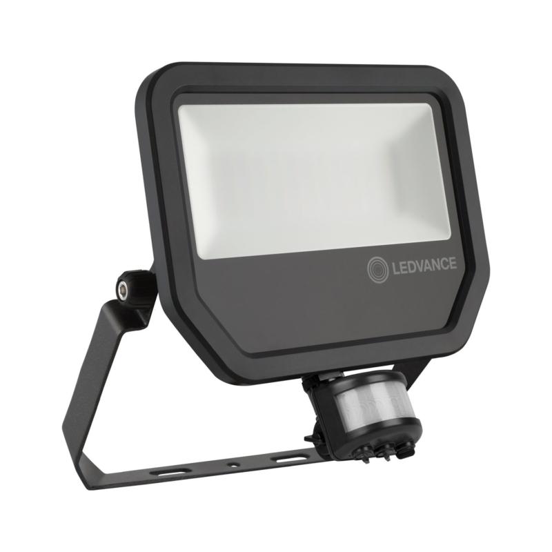Ledvance 3rd Generation LED Floodlight 50W Black 4000K 4058075461031-Main