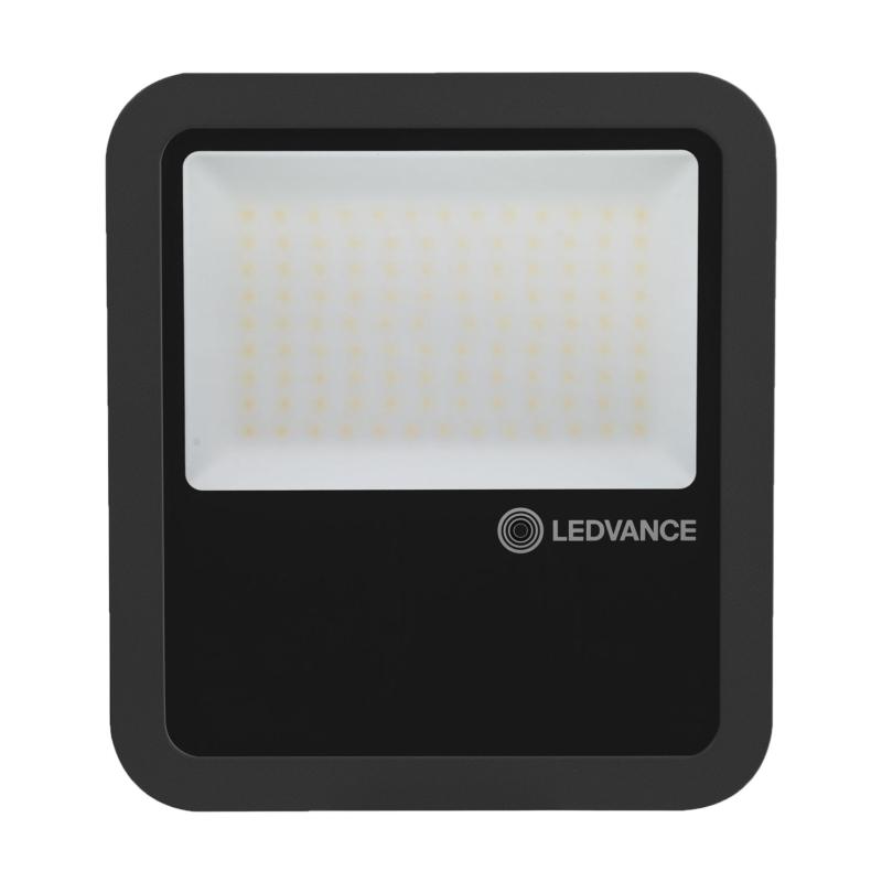 Ledvance 3rd Generation LED Floodlight 80W Black 3000K 4058075422506-Front