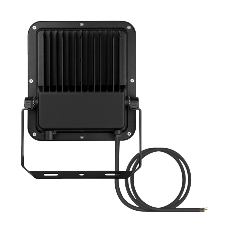Ledvance 3rd Generation LED Floodlight 80W Black 3000K 4058075422506-Rear