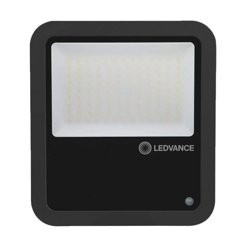 Ledvance 3rd Generation LED Floodlight 80W Black 4000K 4058075461130-Front