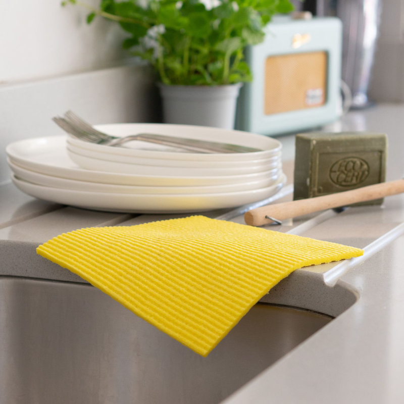 ecoLiving Cleaning Cloths-ECOTWINP001-Lifestyle