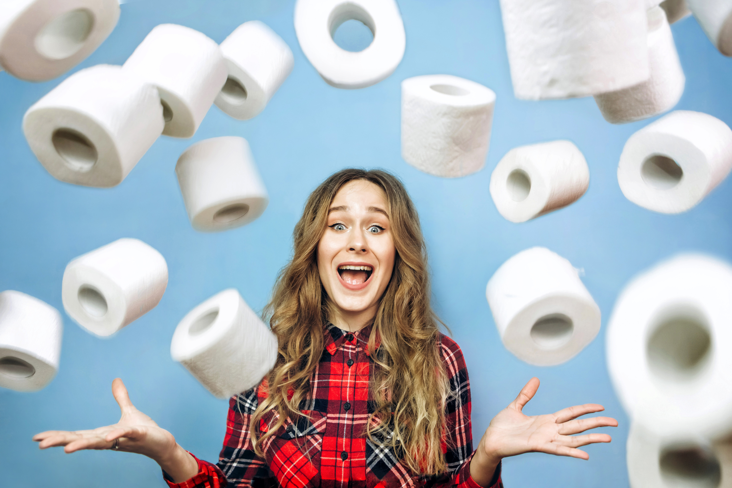 toilet roll stock