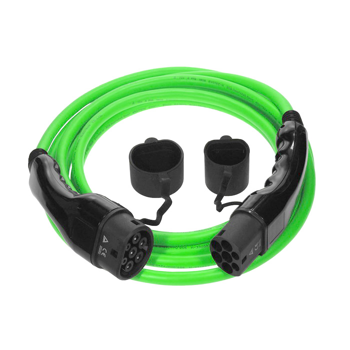 Renault Zoe Charging Cable | Green | 22kw | 32amp | 7.5 metres