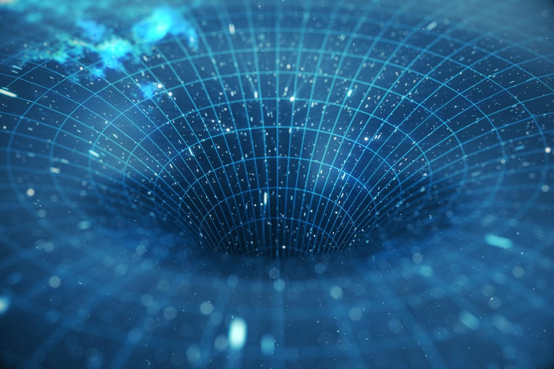 Stock Image Data Black Hole