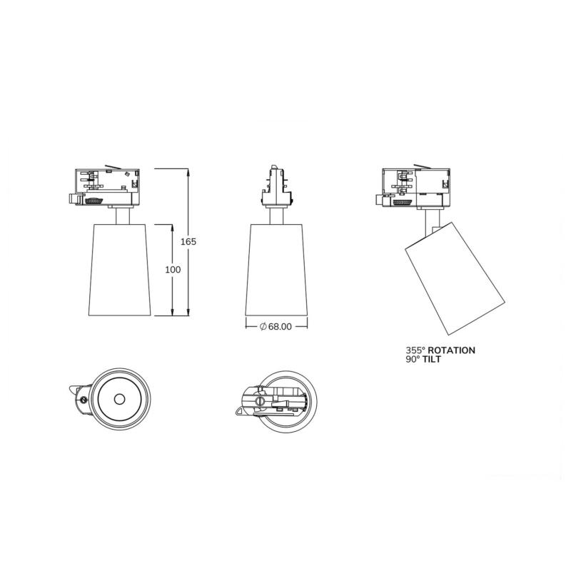 TS-00051 COMPACT GU10