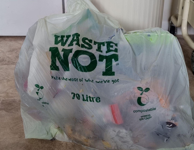 waste not sacks hazel