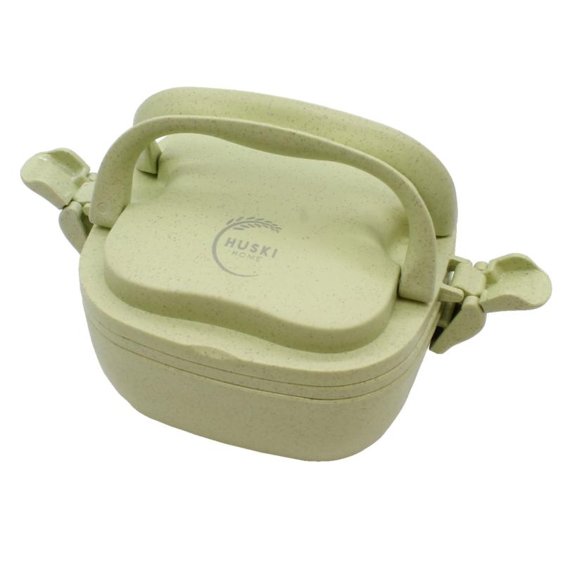 Huski-Home-Sustainable-Rice-Husk-Lunchbox-Pistachio-Handle