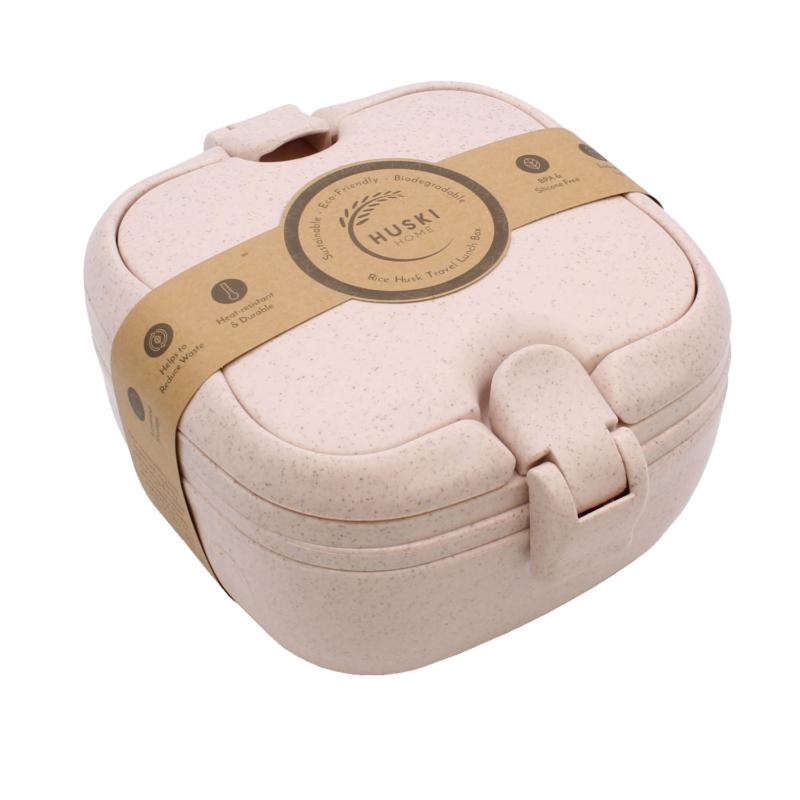 Huski-Home-Sustainable-Rice-Husk-Lunchbox-Rose-Main