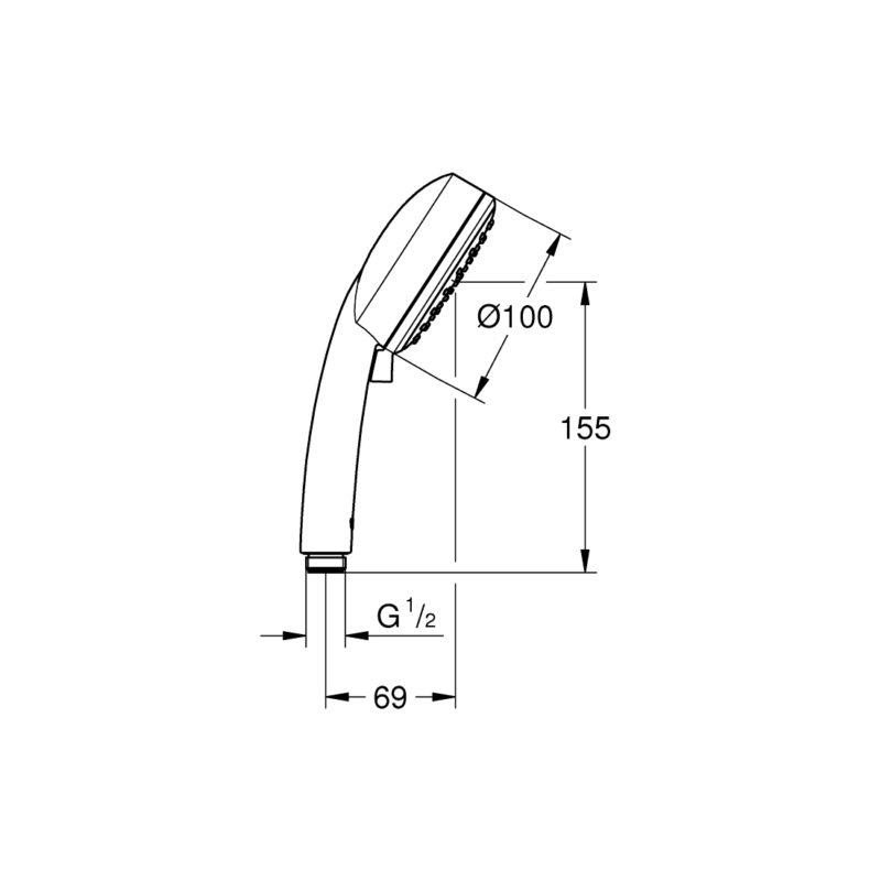 26130001 dimensional drawing
