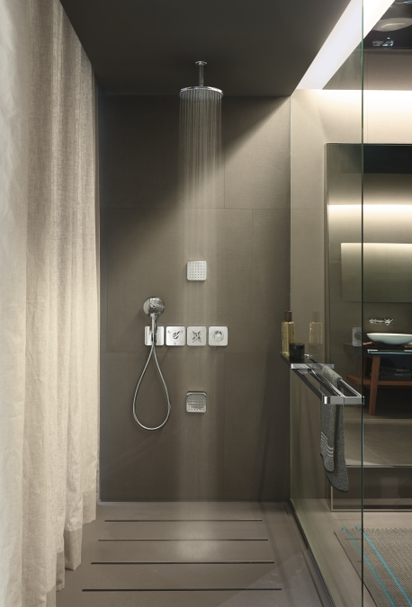 hansgrohe Fixfit Wall Outlet Hose Connection with Non-return Valve