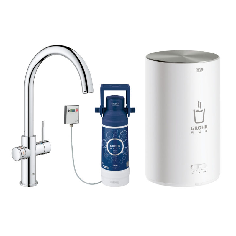 30058001 Grohe Red Duo Mixer Tap Filter and Boiler