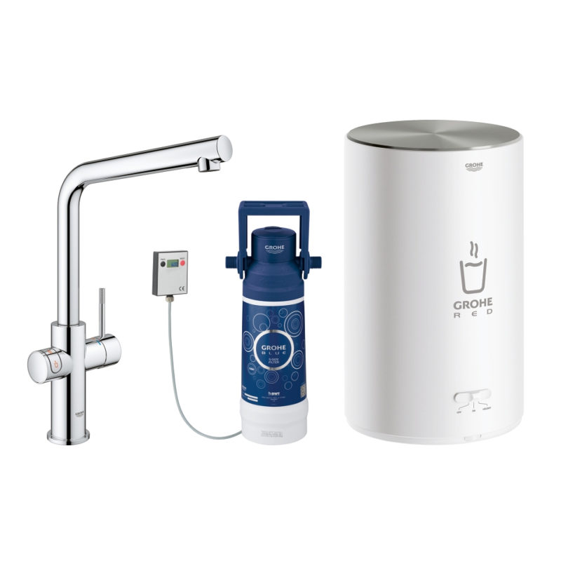 30341001 Grohe Red Duo Mixer Tap Filter and Boiler