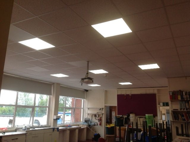 Herschel Select 600x600mm White Ceiling Mounted - Ceiling Concealed