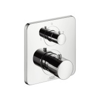 Hansgrohe Thermostatic Mixer for Concealed Installation with Shut-off and Diverter Valve