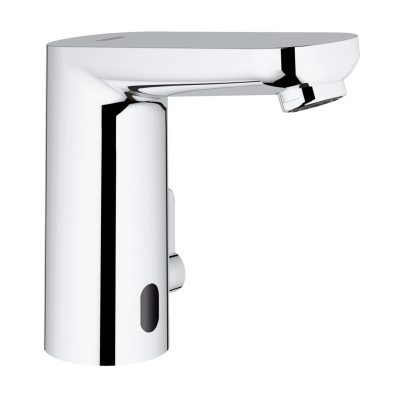Grohe Eurosmart Cosmopolitan E Electronic Battery Powered Temperature Control Sensor Mixer Tap