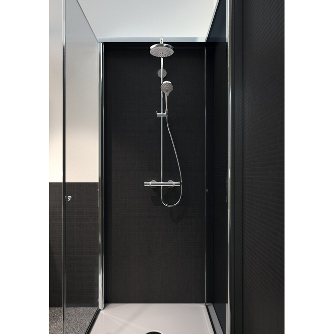 hansgrohe croma select s 180 2jet showerpipe. Black Bedroom Furniture Sets. Home Design Ideas