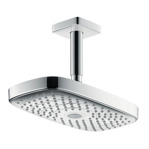 hansgrohe Raindance Select E 300 2Jet EcoSmart With Ceiling Connection 100mm
