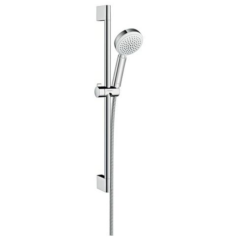 hansgrohe Crometta 100 Vario EcoSmart 9lpm Shower Set 0.65m