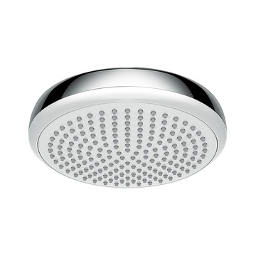 hansgrohe Crometta 160 1Jet Chrome and White Overhead Shower