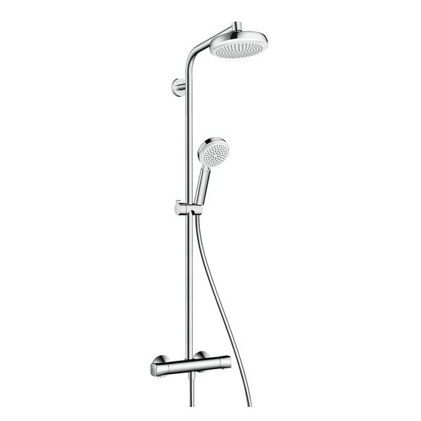 hansgrohe Crometta 1Jet EcoSmart Showerpipe