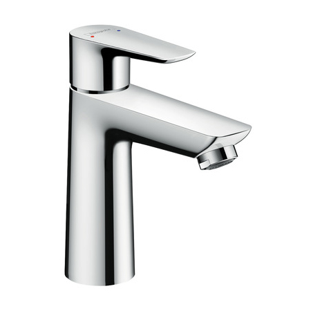 hansgrohe talis e 110 single lever basin mixer with push open waste set. Black Bedroom Furniture Sets. Home Design Ideas