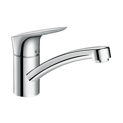 hansgrohe Logis CoolStart Eco Single Lever Swivel 120 Chrome Kitchen Mixer