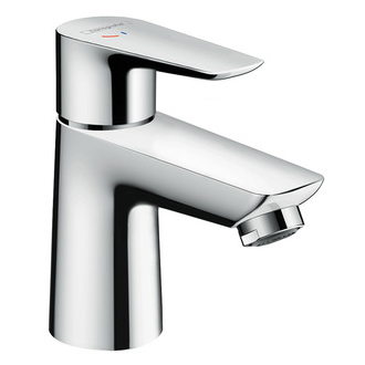 hansgrohe Talis E 80 CoolStart Single Lever Basin Mixer without Waste Set